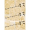 Digital Coffee Stained Background Papers - BB137 Letter Size