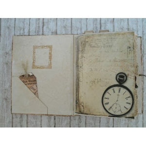 Steampunk Journal Time Files Note Tagebuch