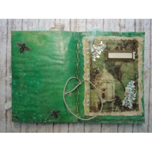 Journal Vintage Queen Bee Tagebuch