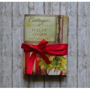 Mini Journal Cottage Chic