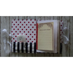 Mini Journal Red Dots